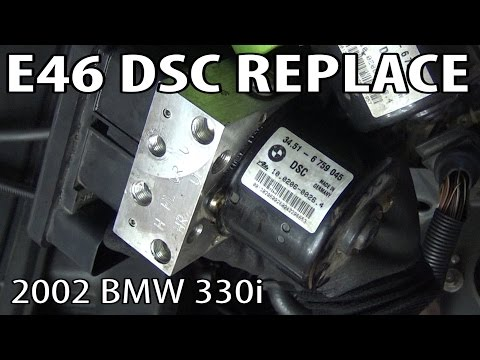 BMW E46 DSC (Dynamic Stability Control) Unit Replacement & Coding!