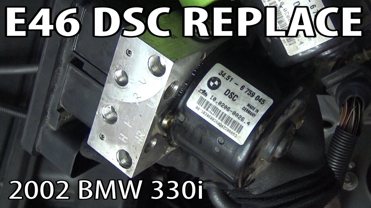 BMW E46 DSC (Dynamic Stability Control) Unit Replacement & Coding!