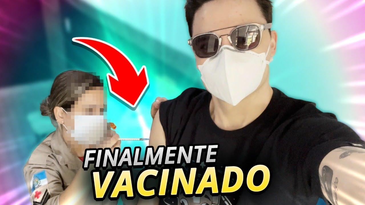FELIPE NETO VACINADO!!!