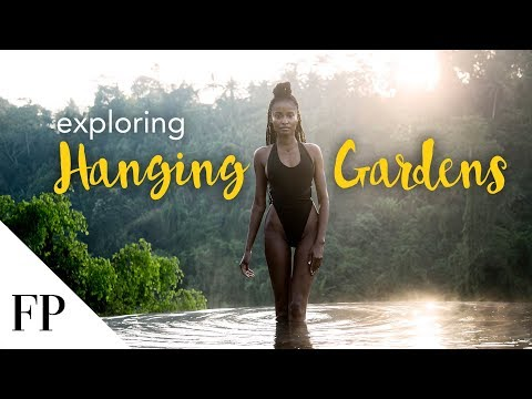 Exploring Hanging Gardens of Bali - 7 Star Luxury Hotel & Resort