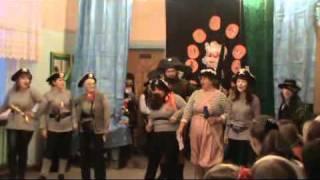 ЕСШ - Новогодний КВН - Приветствие (Сборная учителей)