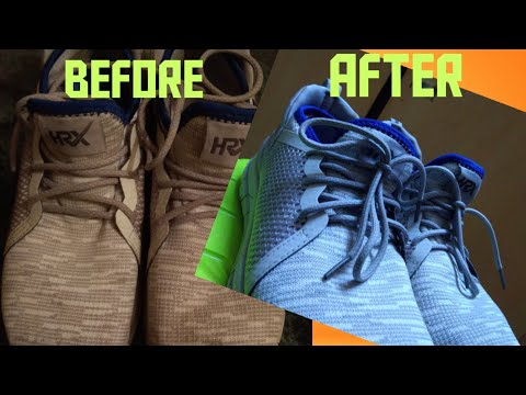 Cleaning The Dirtiest 950$ HRX Shoes Oxy Cleaning