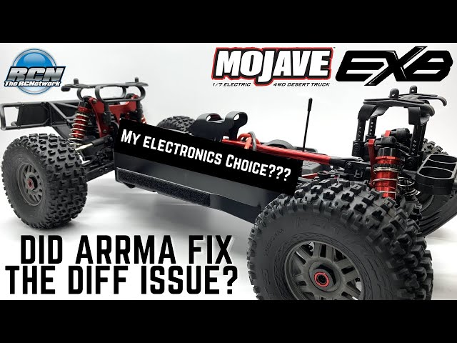 Electronics and Diff Tear Down - Arrma Mojave EXB - 1/7th Roller Desert Truck