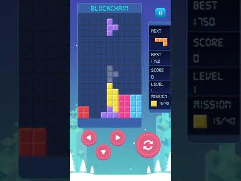 Blockchain Puzzle - Block Brick Game Classic