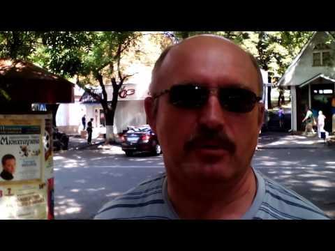Видео отзыв о санатории им. Димитрова г. Кисловодск 2016 год