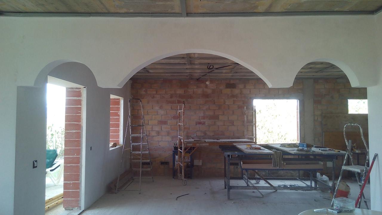 Hacer arcos decorativos CONSTRUIR UNA CASA PASO A PASO