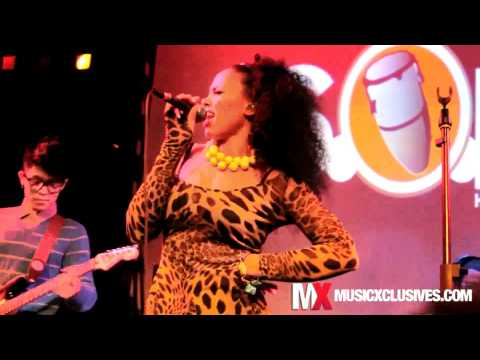 Elle Varner performs 'So Fly' at SOB's in NYC