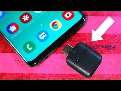 Epic Uses For The Galaxy S10 OTG Dongle (and Other Android Phones Too)