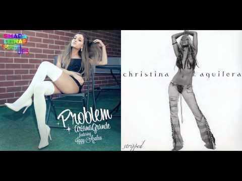 Ariana Grande vs Christina Aguilera ft Redman  Dirrty Problem