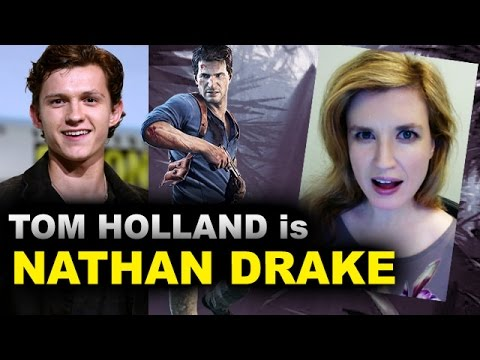 Tom Holland Is Nathan Drake Uncharted Movie Youtube