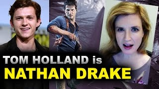 Tom Holland is Nathan Drake - Uncharted Movie