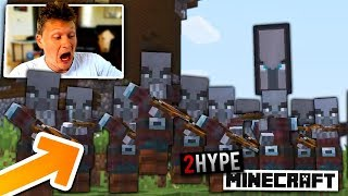 THIS WAS A VERY BAD IDEA... 2HYPE MINECRAFT