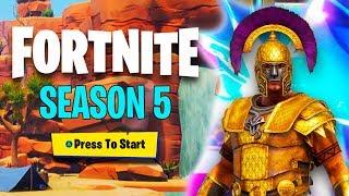 *NEW* SEASON 5 BATTLE PASS (My Last Fortnite Season 4 Battle Pass Video)