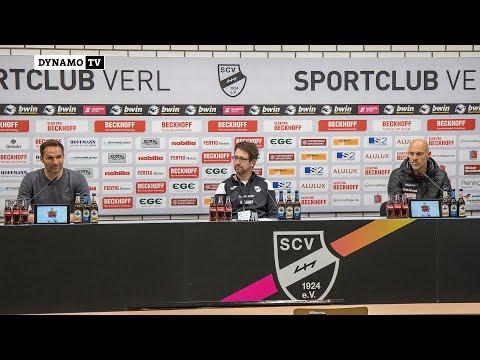 35. Spieltag | SCV - SGD | Pressekonferenz nach dem Spiel