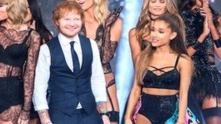 Ariana Grande Tells Something Naughty To Ed Sheeran That Surprises Him