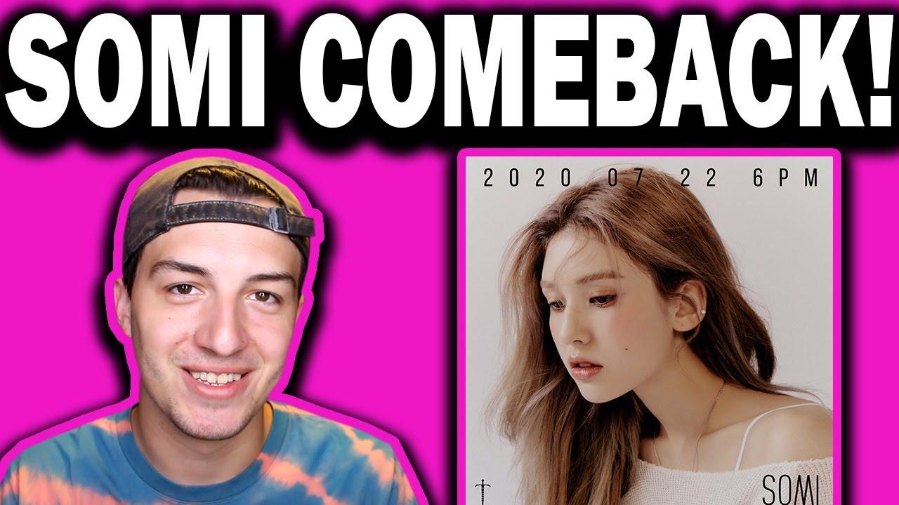 Somi Comeback In July!