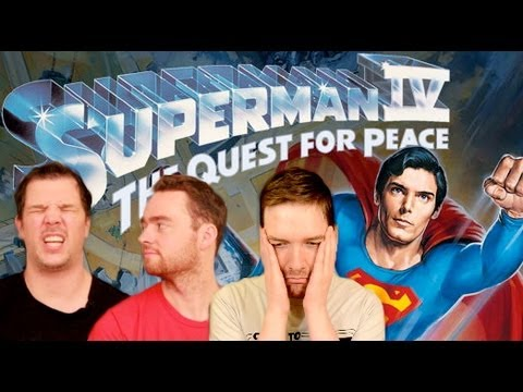 Superman IV: The Quest for Peace - Movie Review by Chris Stuckmann and Schmoes Know