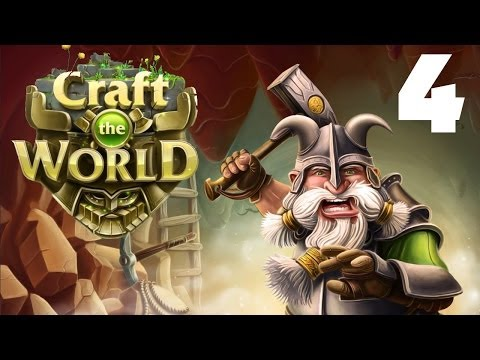 Let's Play Craft the World - Episode 4 - Dealing with Dwarves