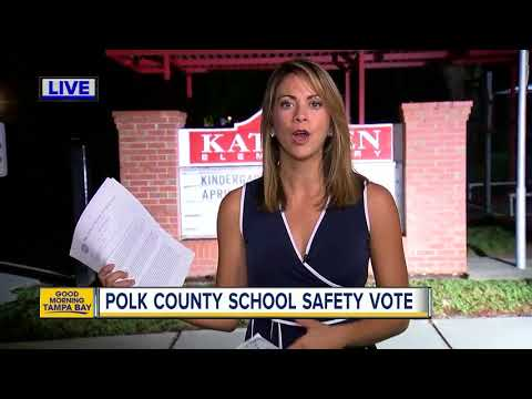 Polk County School Board may vote on plan to use armed guards to secure schools