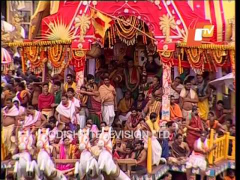 Chariots Pulling End in Bahuda - Puri Rath Yatra 2017