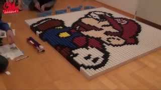 GUINNESS WORLD RECORD - Biggest 3D Domino Pyramid Ever Made