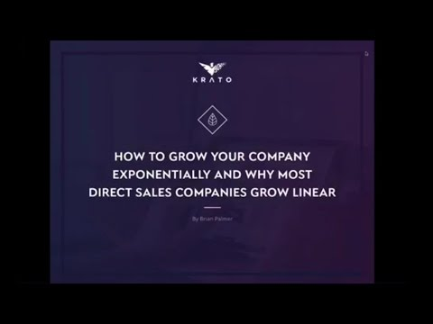 DSWA Executive Forum: How to Grow Your Direct Sales Company Exponentially Instead of Linearly