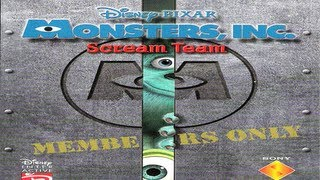 Classic PS1 Game Monsters, INC. Scream Team on PS3 in HD 1080p
