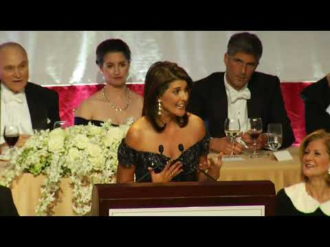 Nikki Haley gets laughs at NY charity gala