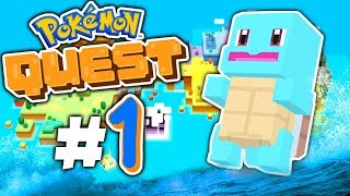 "Pokemon Quest - ""NEW WORLD...NEW ADVENTURE!"" - Episode 1"