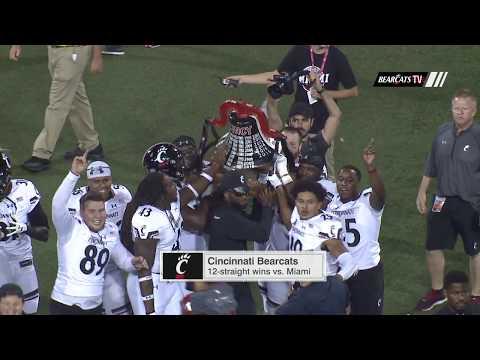 Cincinnati Football Highlights: Cincinnati 21 Miami OH 17 (Courtesy Raycom)