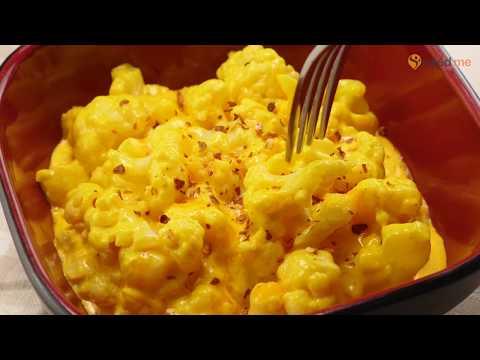 """keto-cauliflower-""""mac""""-&-cheese-recipe"""