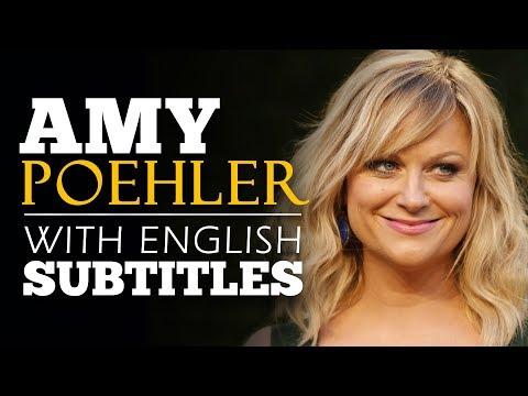ENGLISH SPEECH | AMY POEHLER: Take Your Risk NOW! (English Subtitles)