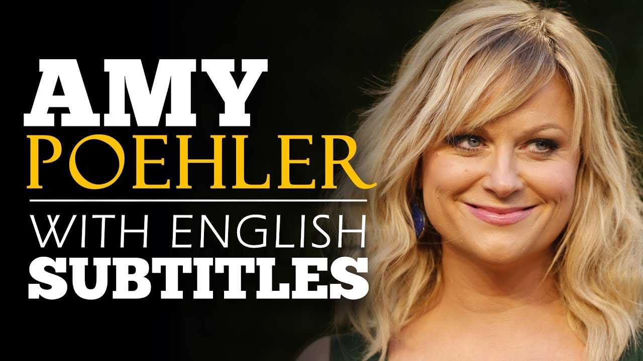 Download ENGLISH SPEECH | AMY POEHLER: Take Your Risk NOW! (English Subtitles)