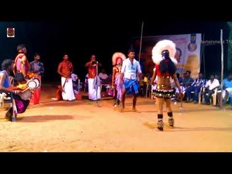 சித்ராவின் ராத்திரி நேரத்து பூஜையில்-music of this Song Karakattam Video Tamil Nadu Aug 2018 HD