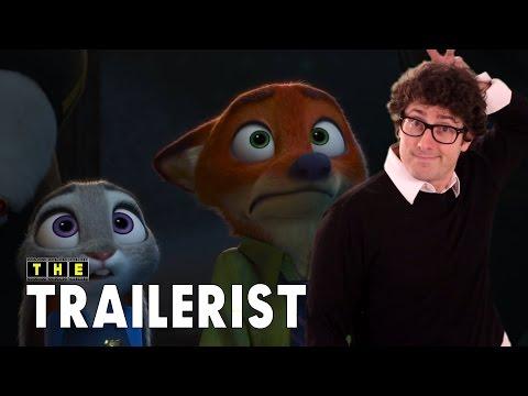 Zootopia Trailer #2 Reaction Review - The Trailerist