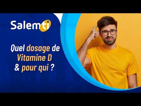 #SALEMTI : Quel dosage de Vitamine D & pour qui ? 👩⚕️