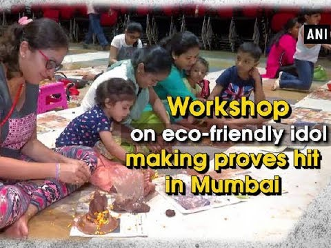 Workshop on eco-friendly idol making proves hit in Mumbai - Maharashtra News
