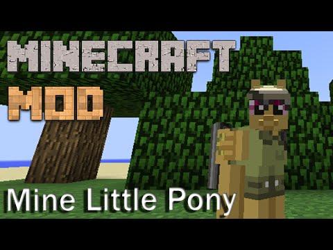 Minecraft Mods : Mine Little Pony | 1.7.10 | Lite Loader | ITA