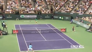 Novak Djokovic vs Del Potro - Indian Wells 2017 (HD)