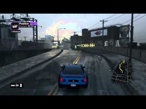 Watch Dogs Race 'Open Road' World Record PS4