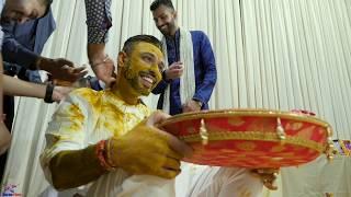 Brijesh - Pithi ceremony  | www macawfilms com | Hindu Wedding Video