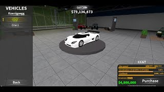 Roblox Ultimate Driving: Full Car List Of The 4 brand New Sucessors With Prices And Stats!