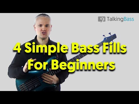 Easy Bass Fills For Beginners