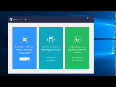 Windows Password Recovery Video Guide