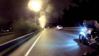alee sanchez twister 250 en la autopista miercoles por la noche