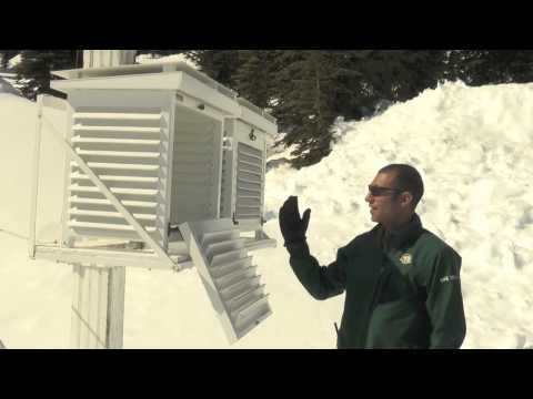 Anatomy Of An Avalanche - Observing Weather - Snow Science Video 1