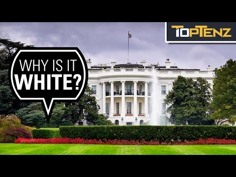 Top 10 Fascinating Facts About the WHITE HOUSE