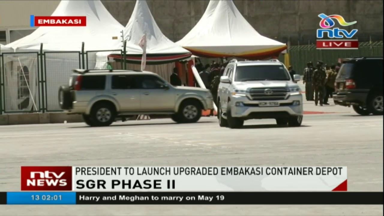 President Kenyatta to launch upgraded Embakasi container depot