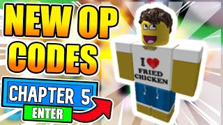 ALL *NEW* OP 🏭CHAPTER 5🏭 CODES   ROBLOX GUESTY