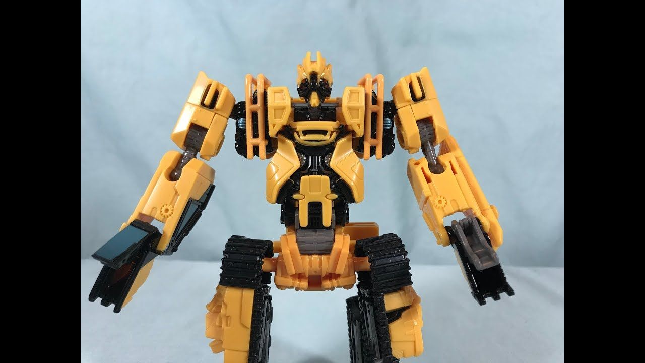 Transformers Studio Series 41 Deluxe CLASSE Constructicon scrapmetal Figura